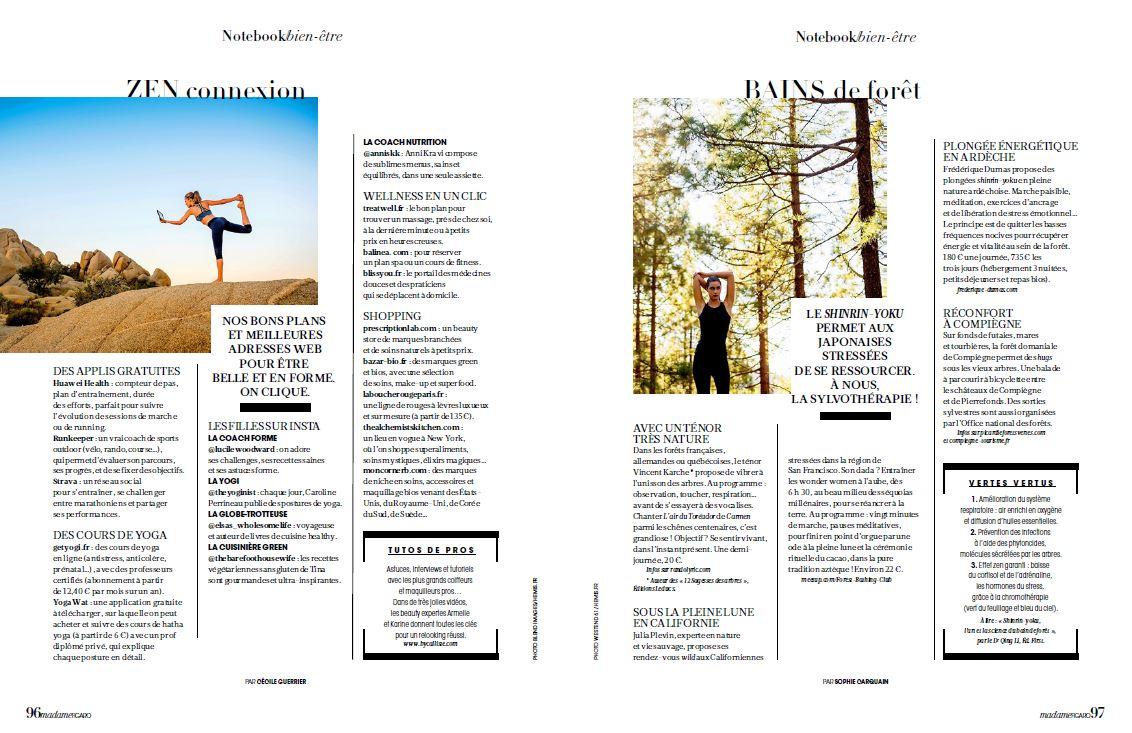 Forêt thérapie et shinrin yoku - bains de forêt - Frederique Dumas www.japanese-garden-institute.com www.frederique-dumas.com